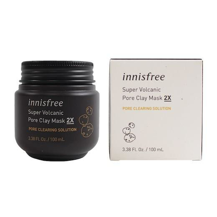 Picture of Innisfree Super Volcanic Pore Clay Mask 2X 100ml