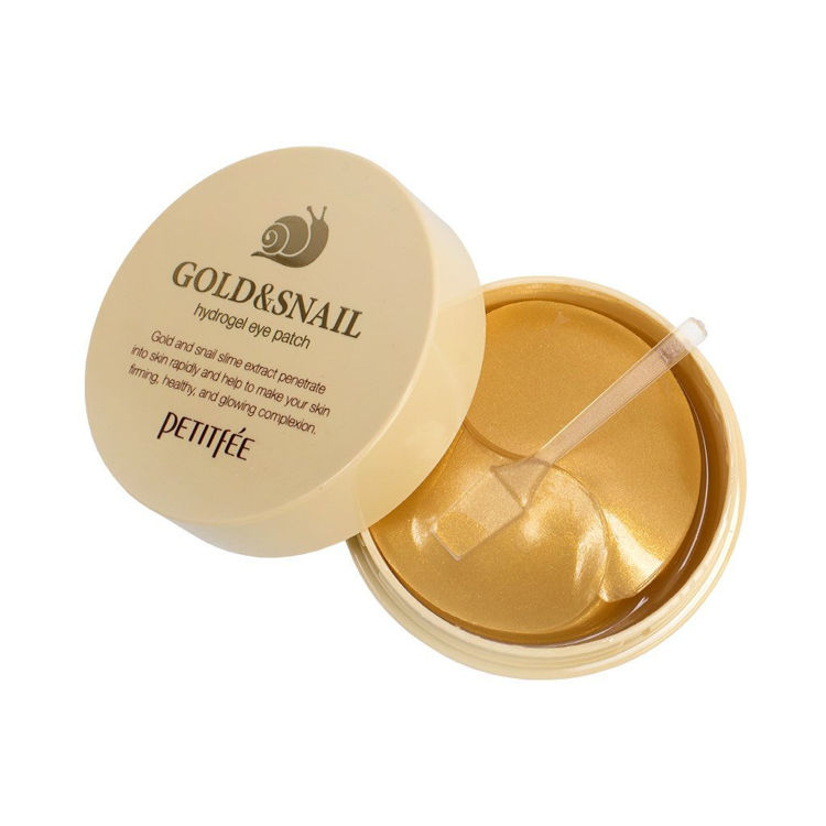 Picture of PETITFEE Gold & Snail hydrogel eye patch 60pieces