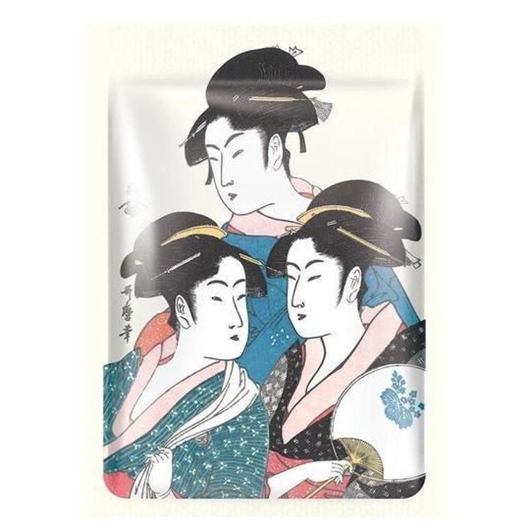 Изображение на ШИЙТ МАКА СЪС ЗЛАТО MITOMO Gold Cherry Blossom Essence Mask 25г
