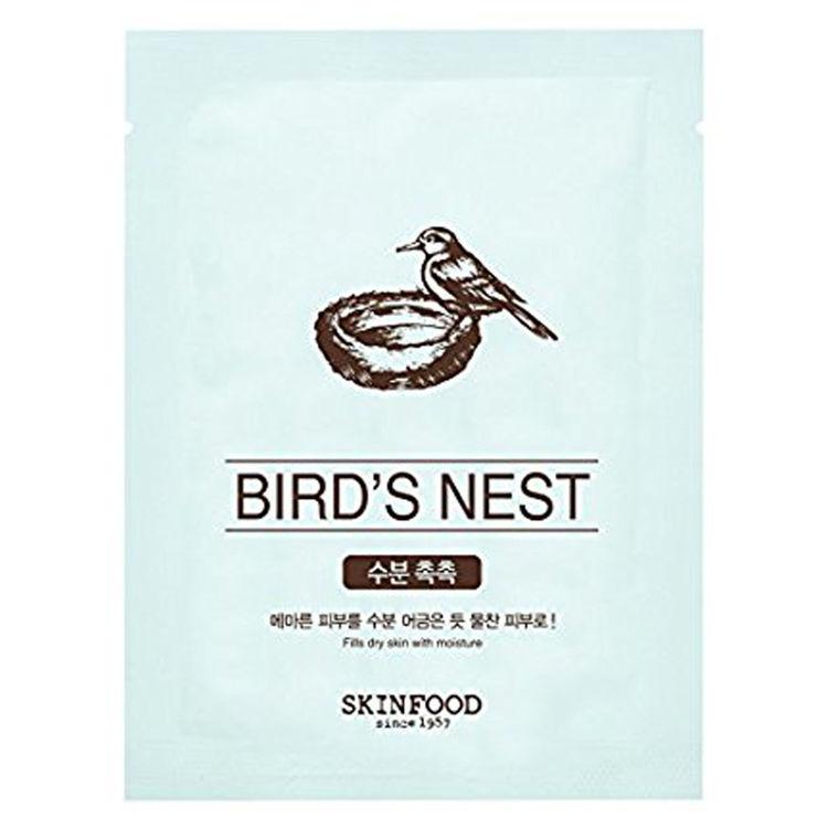 Изображение на ШИЙТ МАСКА  ПТИЧЕ ГНЕЗДО SKINFOOD  Beauty in a Food Mask Sheet  Bird's Nest 20мл
