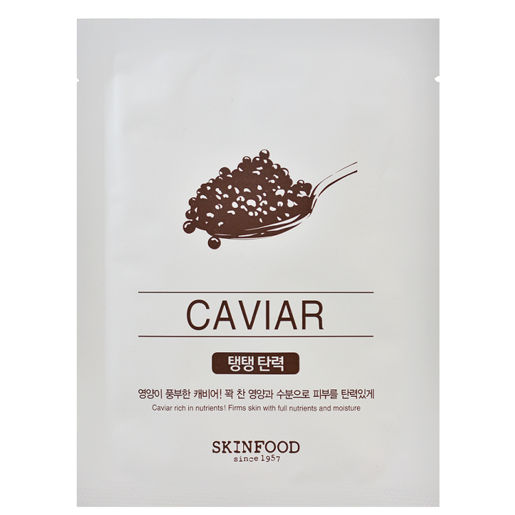 Picture of SKINFOOD  Beauty in a Food Mask Sheet Caviar 20ml