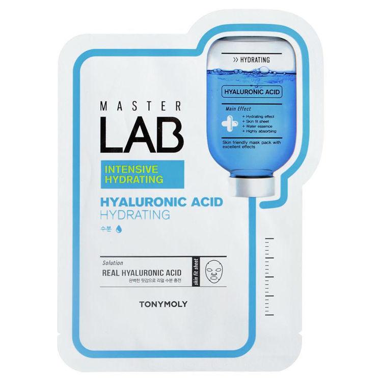 Изображение на ШИЙТ МАСКА С ХИАЛУРОНОВА КИСЕЛИНА TONYMOLY  Master Lab Real Mask Sheet Hyaluronic Acid 19г
