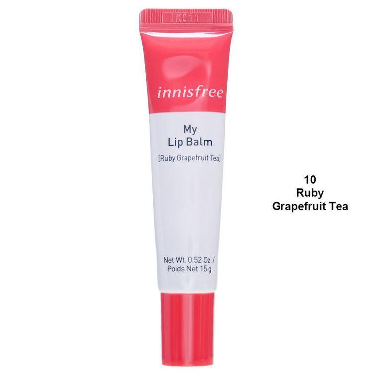 Изображение на БАЛСАМ ЗА УСТНИ Innisfree My Lip Balm- Ruby Grapefruit Tea 15г