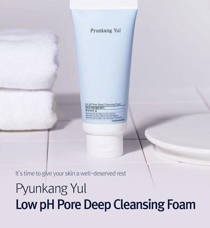 Изображение на ПОЧИСТВАЩА ПЯНА С НИСКО PH Pyunkang Yul Low pH Pore Deep Cleansing Foam 100мл