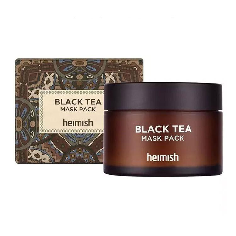 Изображение на ТОНИЗИРАЩА МАСКА С ЧЕРЕН ЧАЙ Heimish Black Tea Mask Pack 110мл.